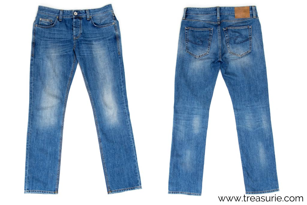 How to Distress Jeans with Bleach