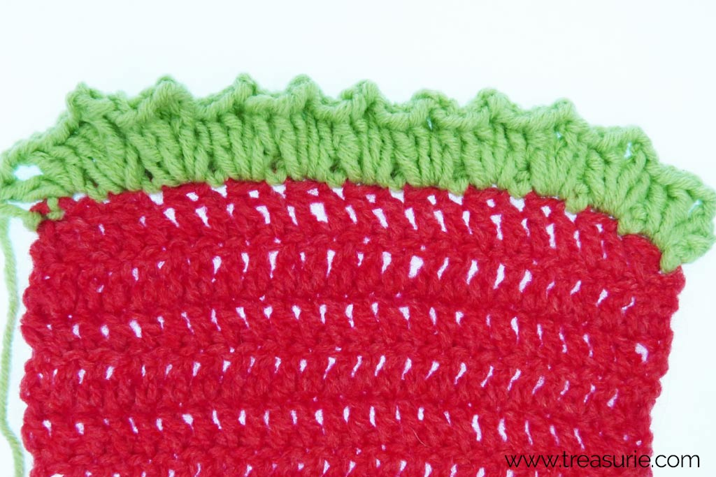 How to Finish Off Crochet - V Stitch Borders