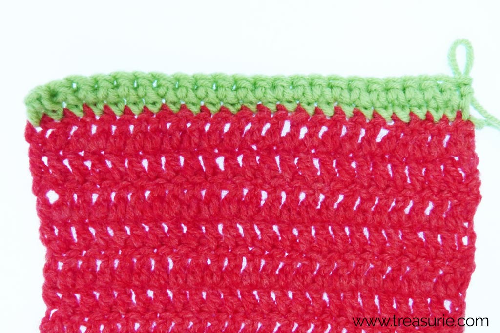 How to Finish Off Crochet - sc borders