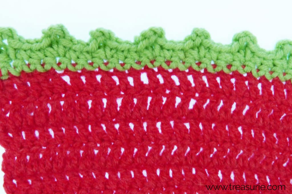 How to Finish Off Crochet - Picot Borders