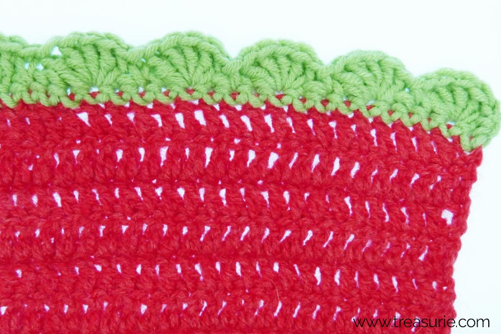 How to Finish Off Crochet - Shell Stitch Borders