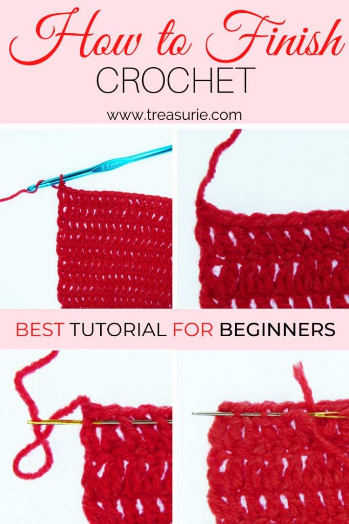 How to Finish Off Crochet