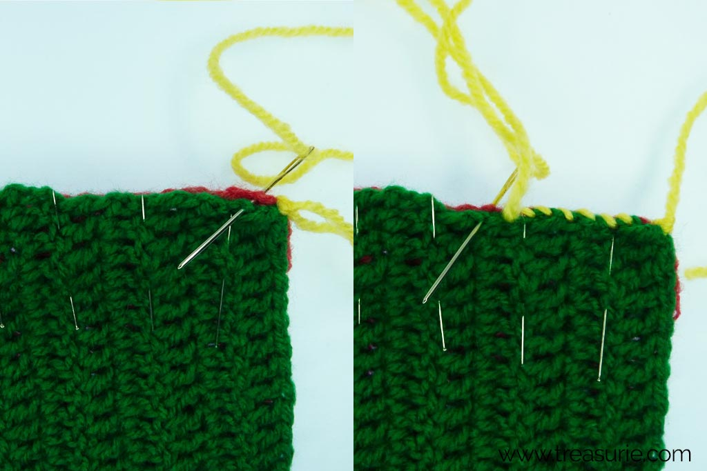 How to Finish Off Crochet with Uneven Edges