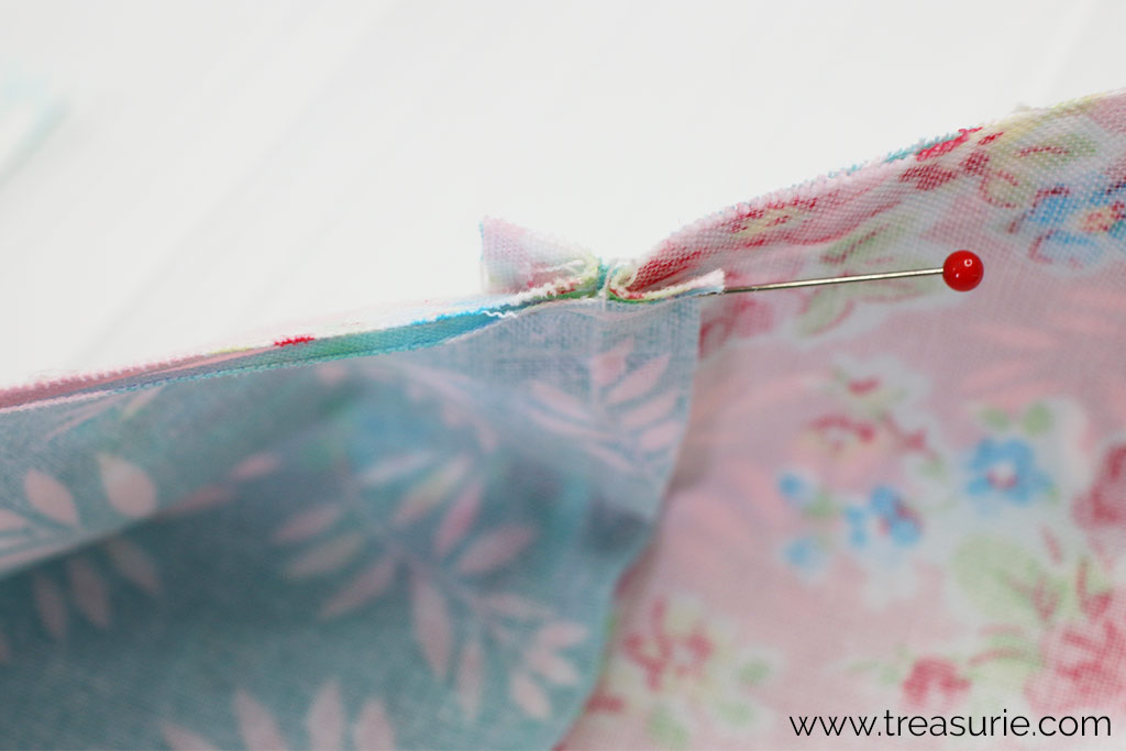 How to Match Seams for Quilts with Nesting