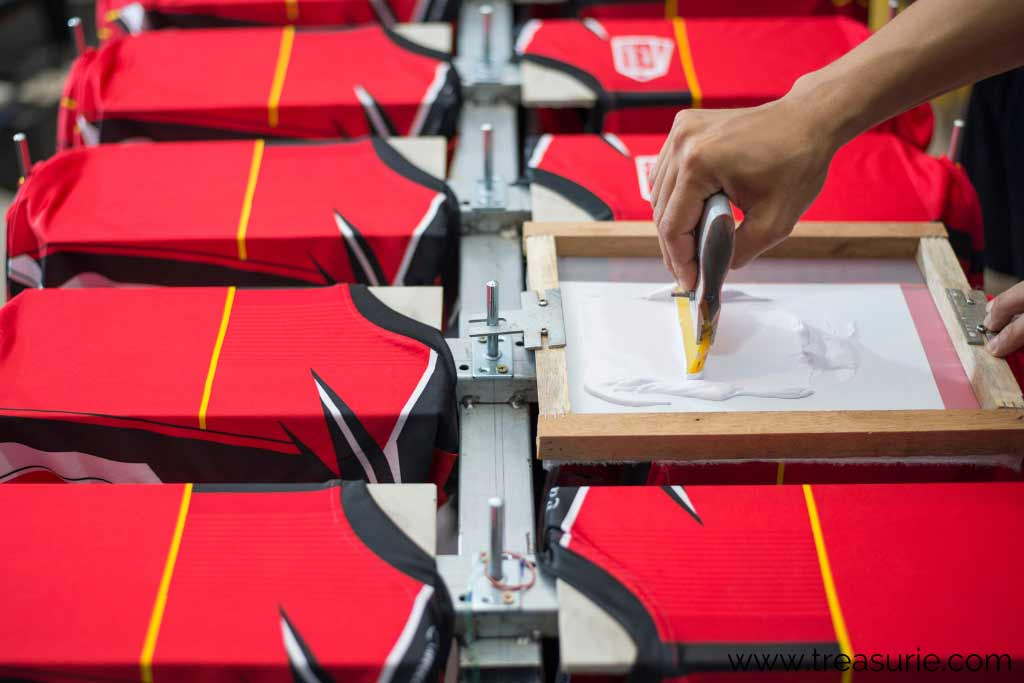 How to Print Fabric with Screenprinting