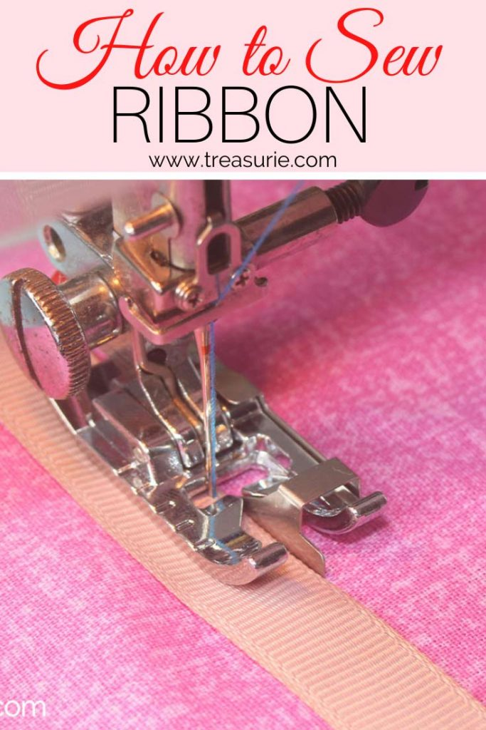 How to Sew Ribbon