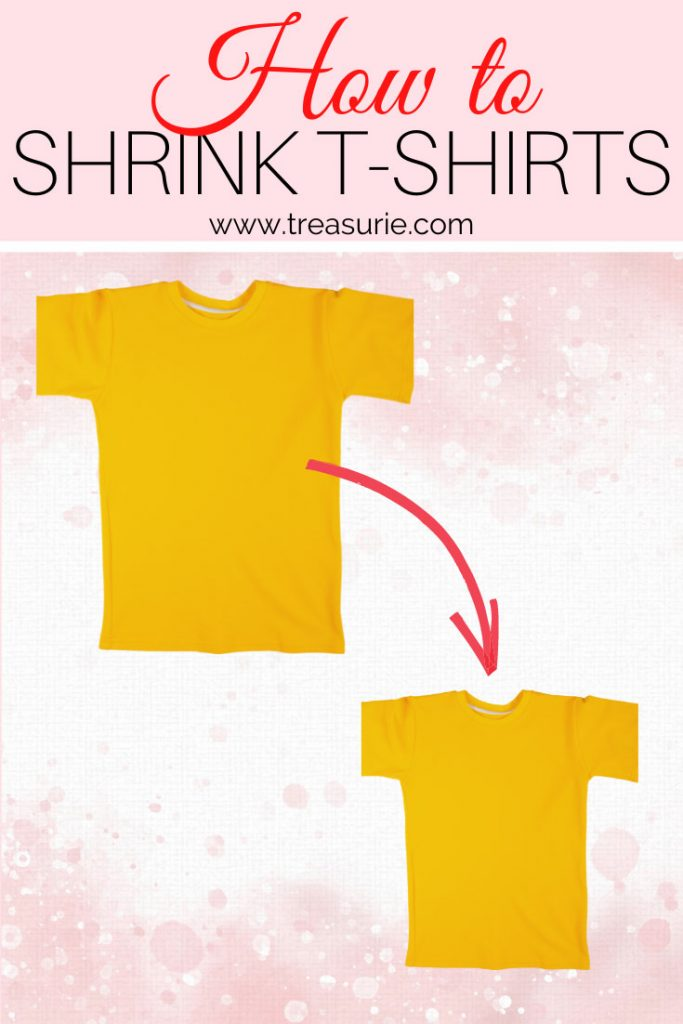 How to Shrink a T-Shirt