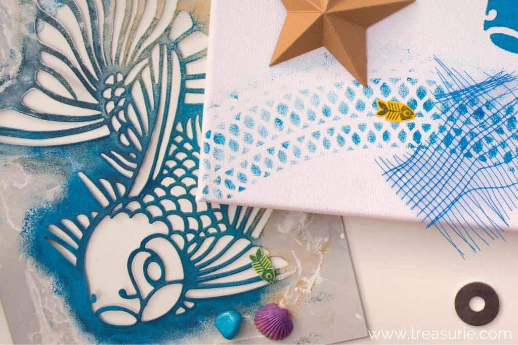 Fabric Stenciling with Paint