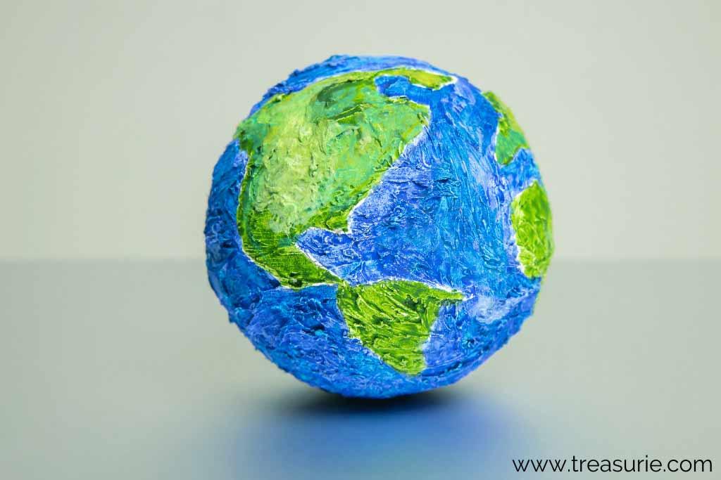 Paper Mache Globe