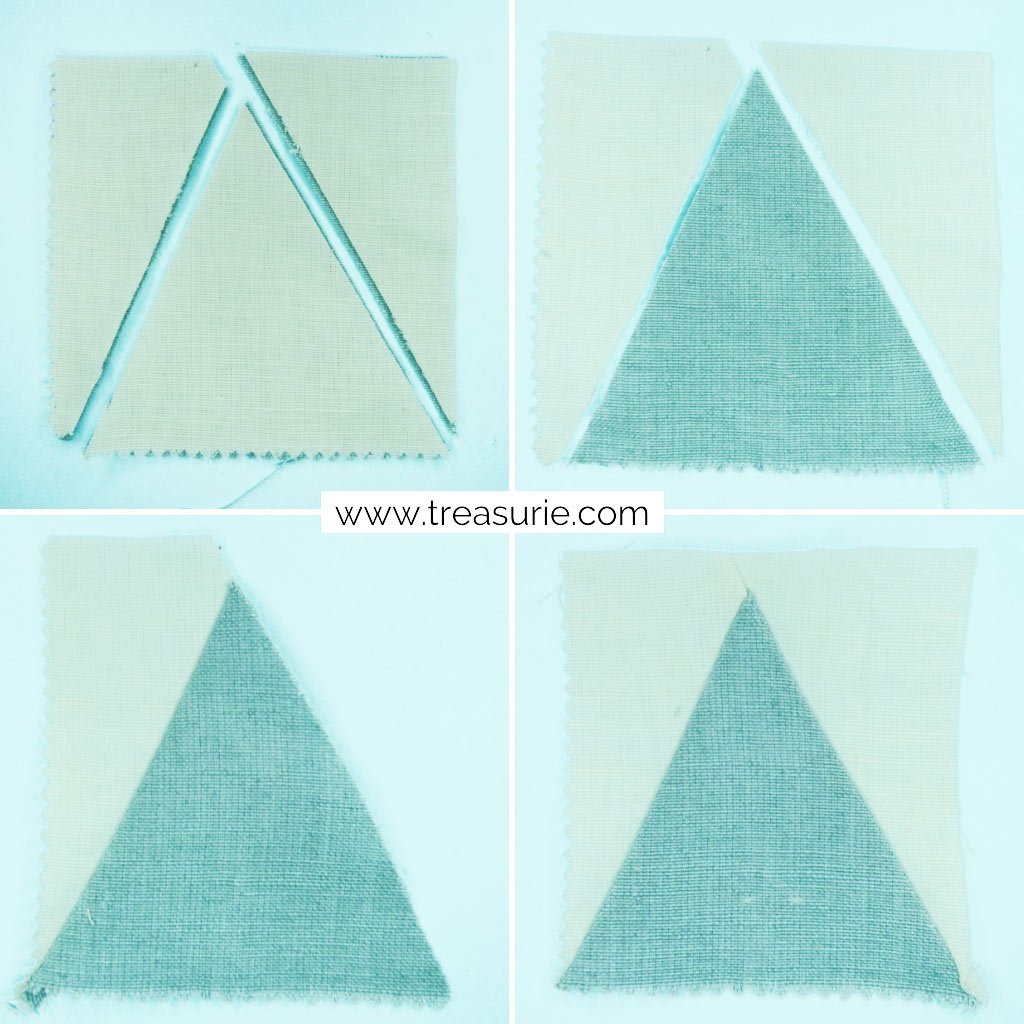 Simple Tree Quilt Blocks - Branches