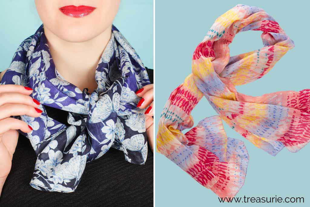 Types of Scarves - Summer