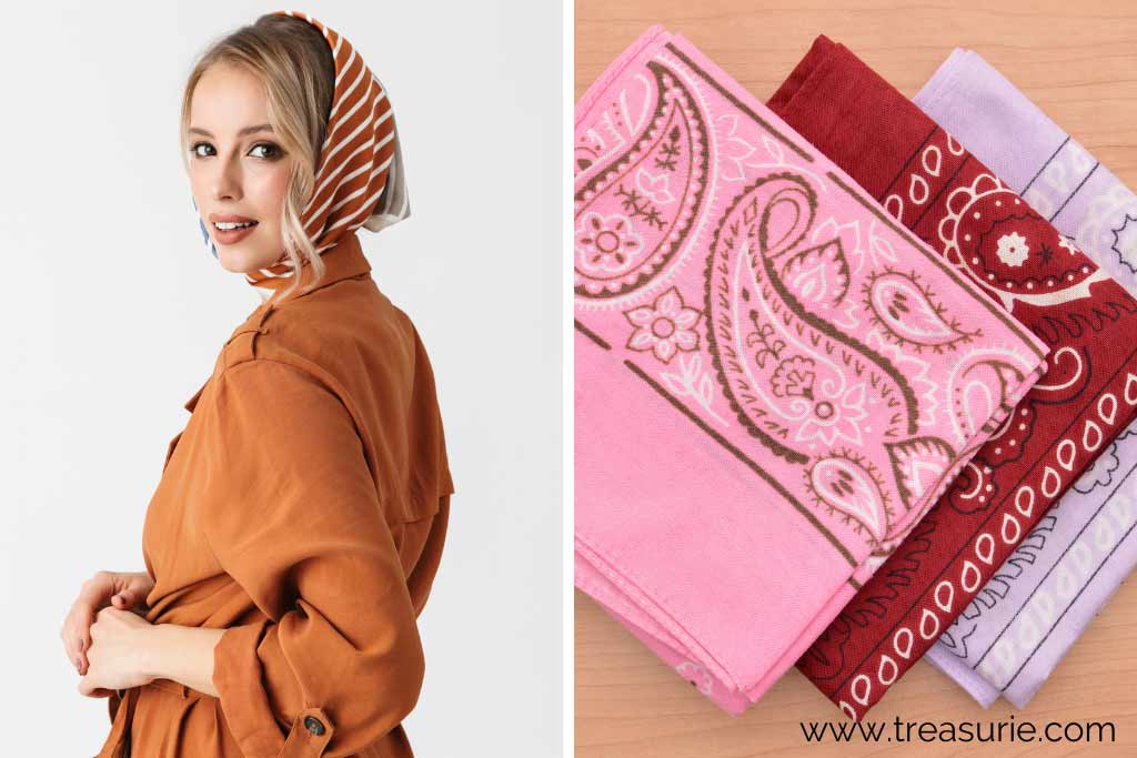 Types of Scarves - Traditional and Bandana