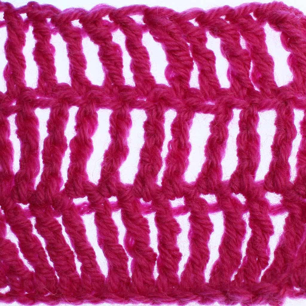 Double Treble Crochet