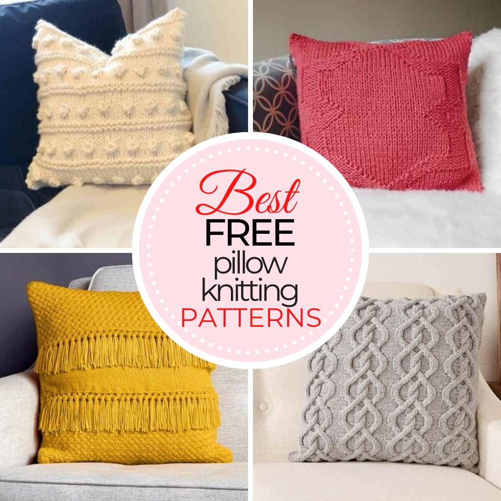 Pillow Knitting Patterns