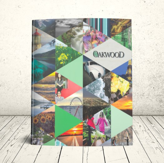 Oakwood School Jahrbuch-Cover 2015-2016