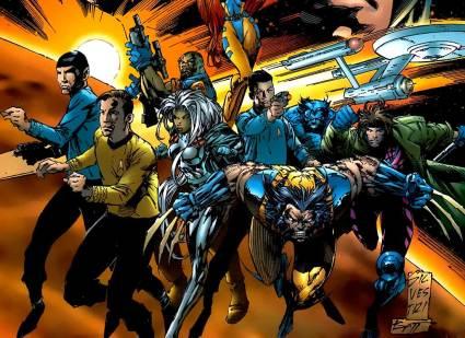 """Trek Comics: """"Star Trek / X-Men"""" (1996) • TrekCore.com"""