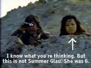 This is not Summer Glau
