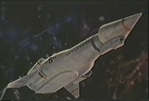 George Pal's Proposed War of the Worlds TV Series - Hyperspace Carrier Pegasus