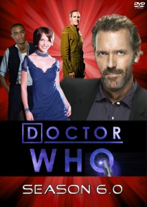 Alternative universe Doctor Who DVD set with Hugh Laurie, Scott Bakula, Lee Thompson Young and Katherine Heigl