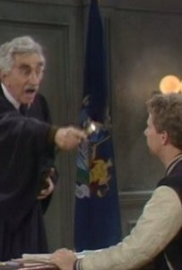 Jeff Corey in Night Court