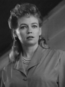 War of the Worlds: Martha Irving as Sylvia Forrester
