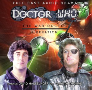 David Hasselhoff and Gareth Thomas in Doctor Who
