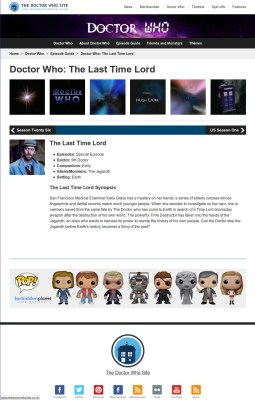 The Doctor Who Site Episode Guide