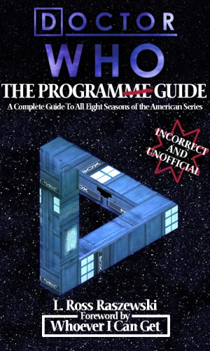 Doctor Who Program Guide Cover