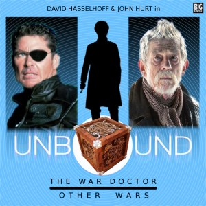 John Hurt and David Hasselhoff as The War Doctor