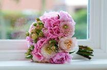 2 Bridal Bouquet Pink Wedding (4)
