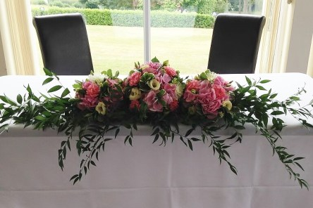 2 Bridal Bouquet Pink Wedding (7)