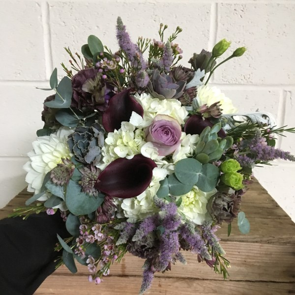 What's in My Bouquet? Shades of Purple