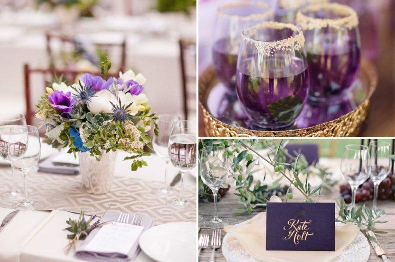 Image result for WEDDING TABLE NAMES ULTRA VIOLET