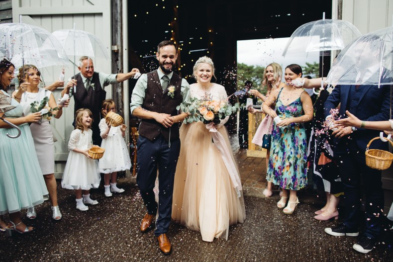 Discover Cat and Dave's DIY Wedding