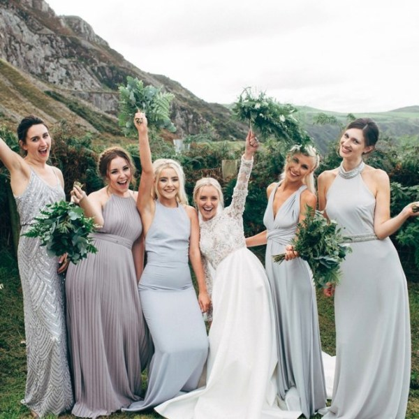 Stylish Welsh DIY Wedding