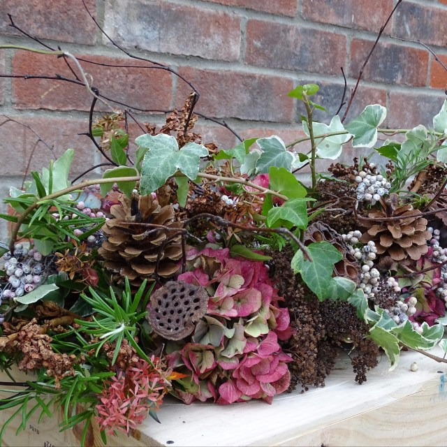 How to Create a Woodland Style Arrangement