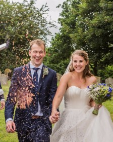 Ellen & Michael Real Weddings - Triangle Nursery Ltd