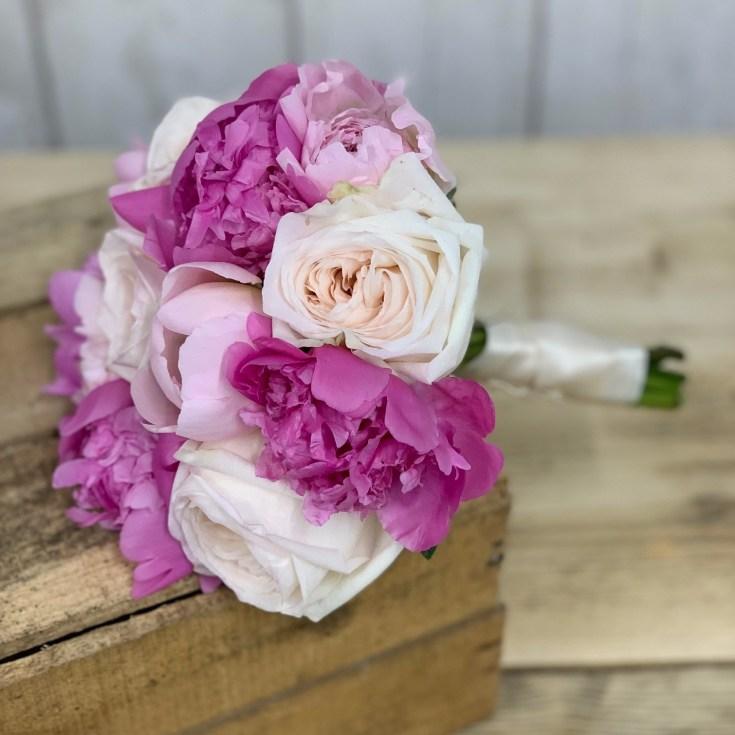 Peony & Garden Rose Bouquet