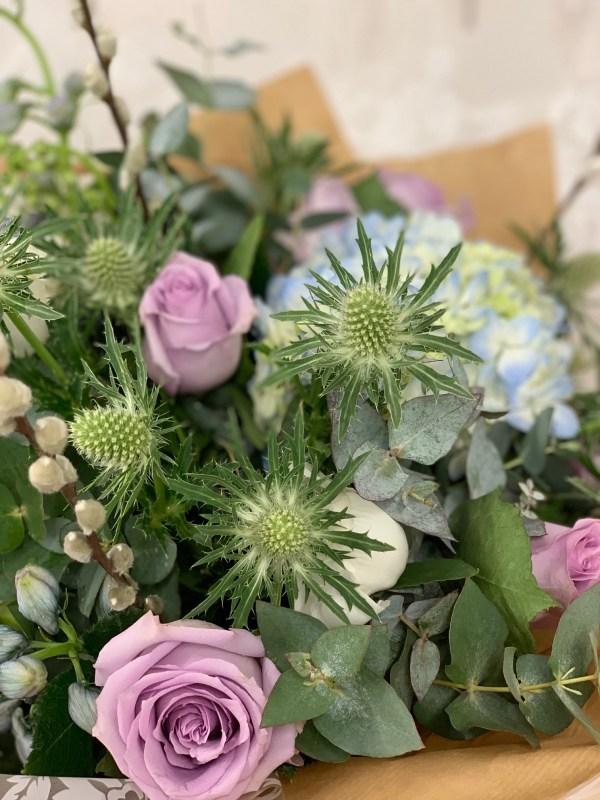 DIY Hand-Tied Gift Bouquet