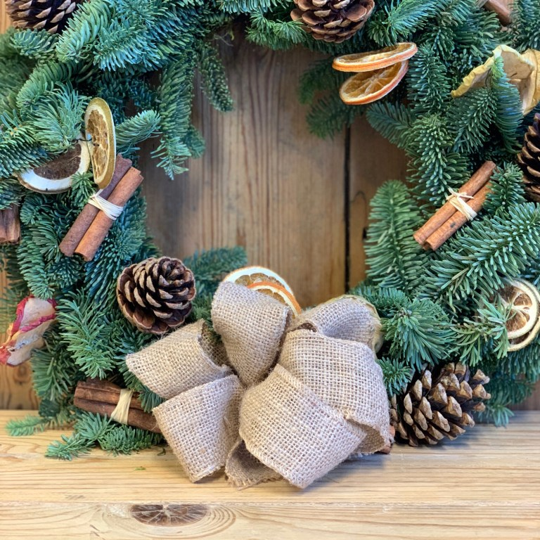 Four Steps to Creating your Festive Wreath