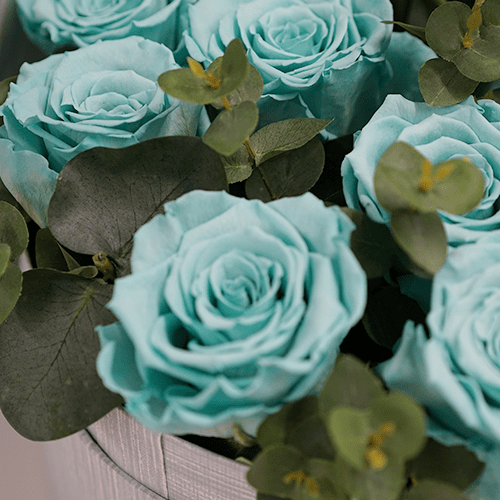 Fair-Aqua Inspired Floral Designs