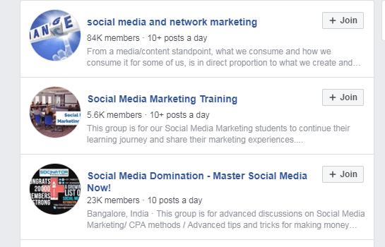 Reddit Facebook Groups