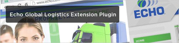 Echo Global Logistics Extension Plugin