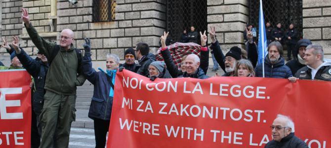 Processo Porto Franco Nord: Trieste Libera abbandona di nuovo l'aula