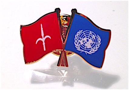 Spilla ONU & Free Territory of Trieste