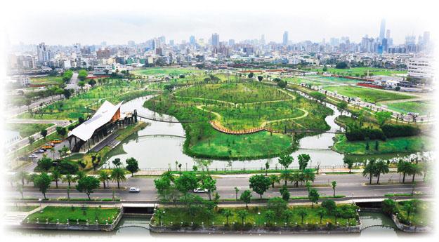 高雄景點-中都濕地公園