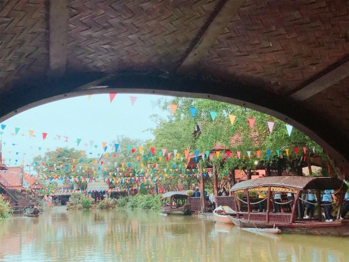 泰國拍照景點-水上市場