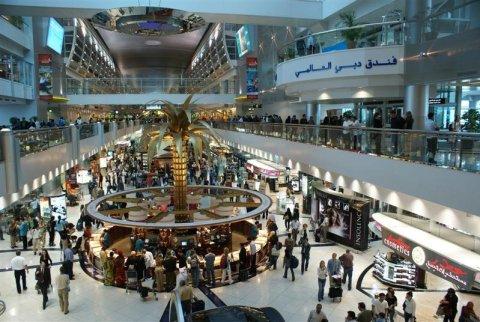 Dubai shopping at Dubai International Airport