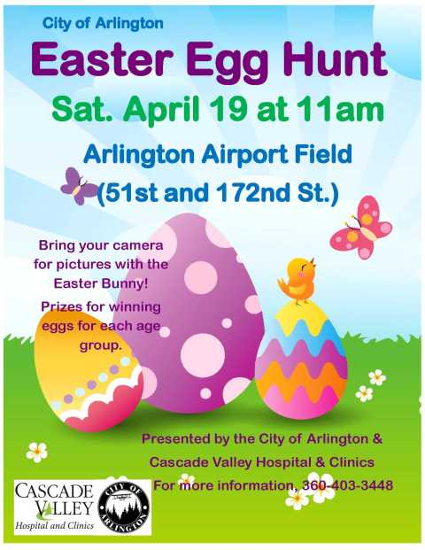 Arlington Airport Easter Egg Hunt