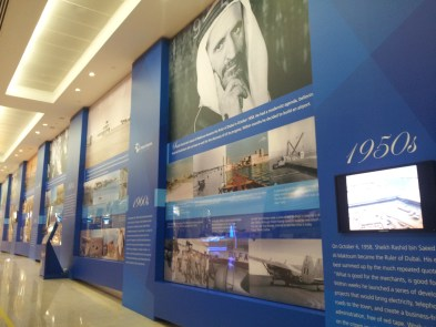 The Dubai aviation exhibiis one of the best long layover airports for passing the time